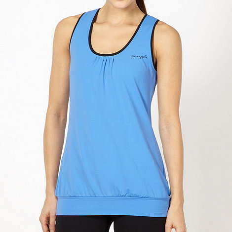 Pineapple - Blue stretch performance vest