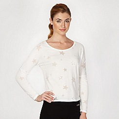 Pineapple - White burnout stars top