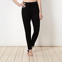 Pineapple - Black jersey harem pants