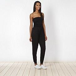 Pineapple - Black bandeau jumpsuit