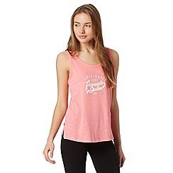 Pineapple - Pink logo slub vest