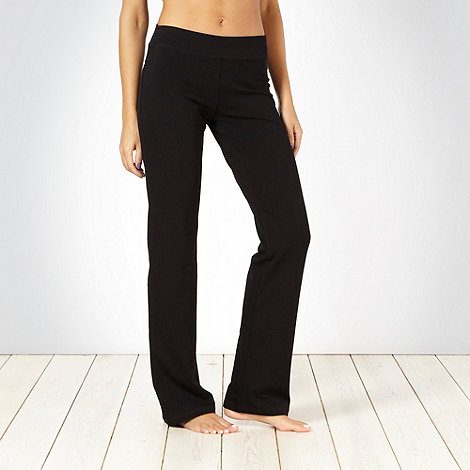 Pineapple - Pineapple black slim leg jogging bottoms