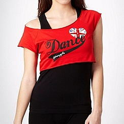 Pineapple - Pineapple red two in one 'dance' top