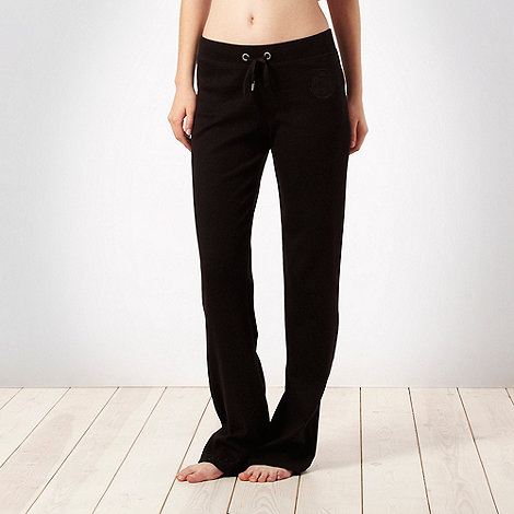 Pineapple - Pineapple black jersey slouch pants