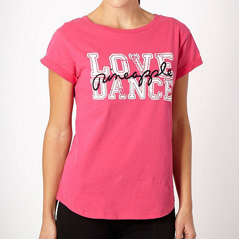 Pineapple - Pineapple bright pink +Love Dance+ t-shirt