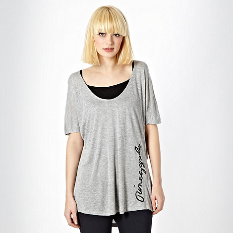 Pineapple - Pineapple grey 2 in 1 oversize top