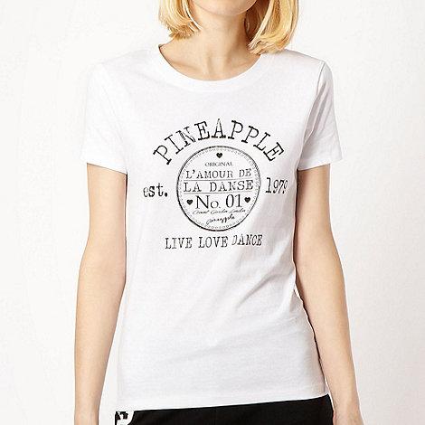 Pineapple - Pineapple white logo t-shirt