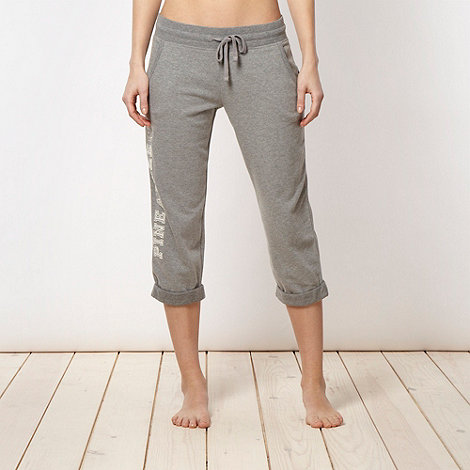 Pineapple - Pineapple grey applique jogging bottoms