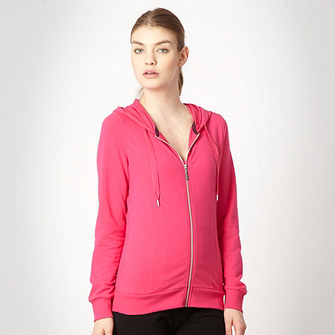 Pineapple - Pineapple pink overlock stitched hoodie