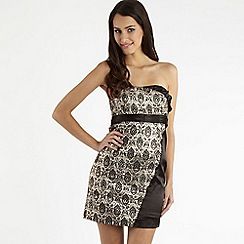 Red Herring Special Edition - Black brocade dress