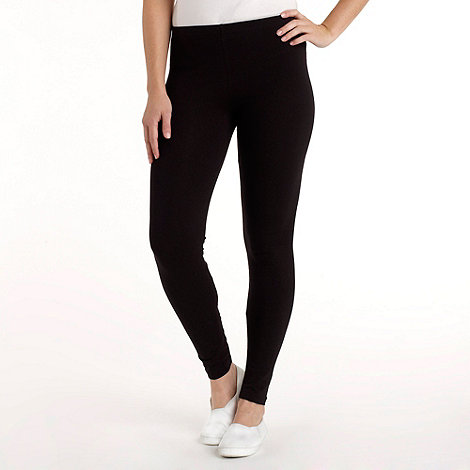 Red Herring - Black full length leggings