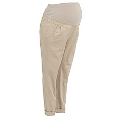 Red Herring Maternity - Maternity natural chino trousers