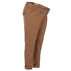 Red Herring Maternity - Camel chino maternity trousers