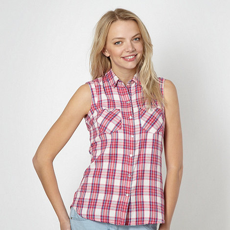 Red Herring - Pink checked shirt