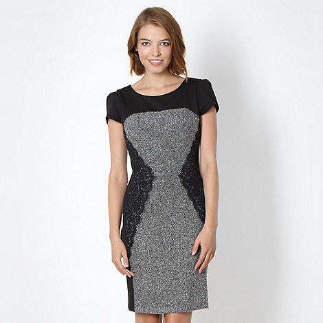 Red Herring - Grey bodycon dress