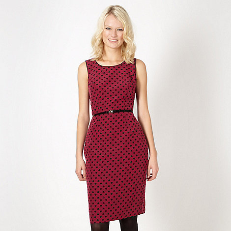 Red Herring - Dark pink heart dress