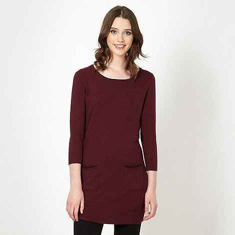 Red Herring - Winter berry knitted tunic