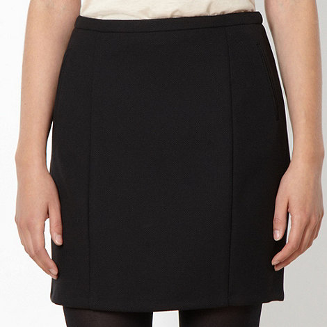 Red Herring - Black mini pencil skirt