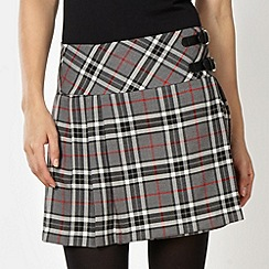 Red Herring - Grey tartan kilt
