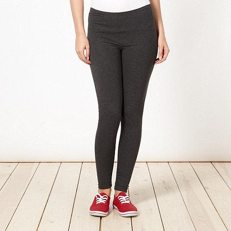 Red Herring - Dark grey full length leggings