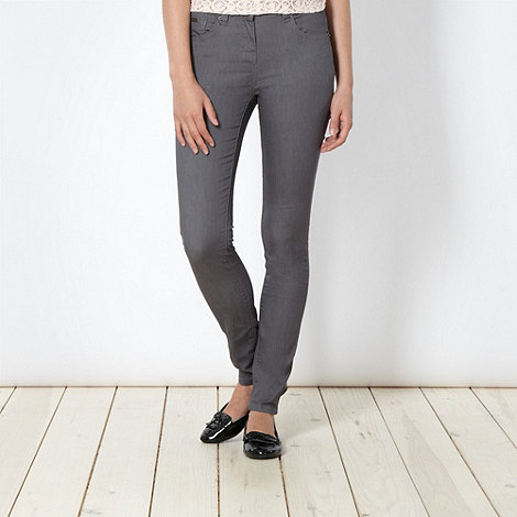 Red Herring - Grey +Holly+ skinny jeans