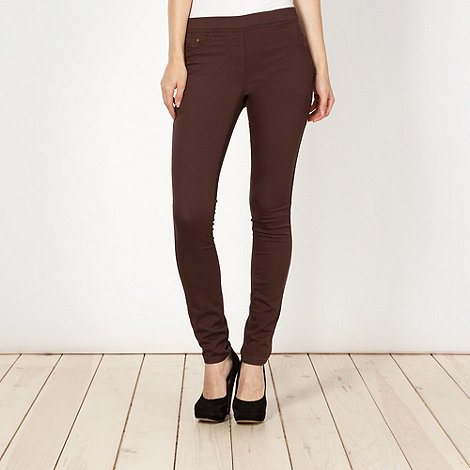 Red Herring - Chocolate skinny +Georgia+ jeggings