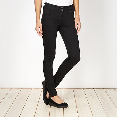 Red Herring - Black super shaper super skinny jeans