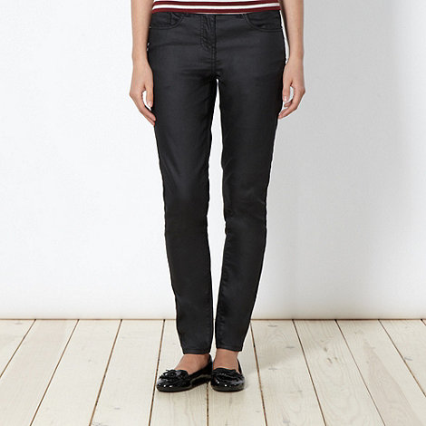 Red Herring - Black coated 'Holly' skinny jeans