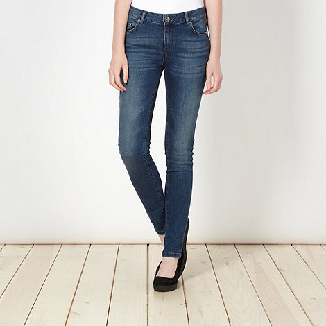 Red Herring - Blue washed super shaper super skinny jeans