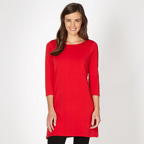 Red Herring - Red jersey tunic