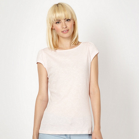 Red Herring - Pale pink plain t-shirt