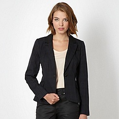 Red Herring - Navy checked blazer