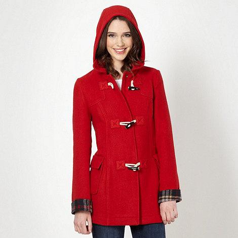 Red Herring - Red duffle coat