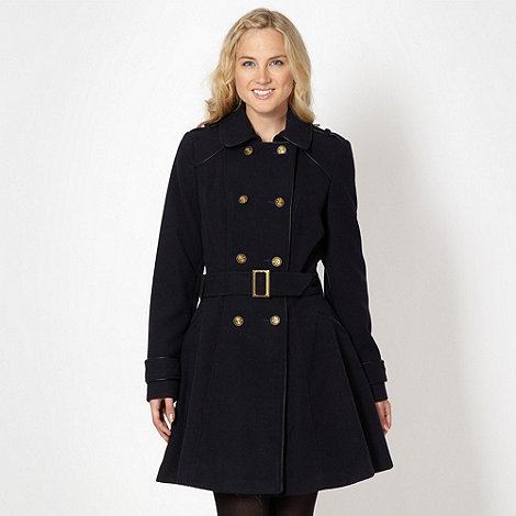 Red Herring - Navy double breasted coat