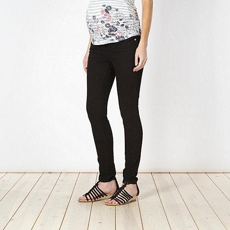 Red Herring Maternity - Black skinny maternity jeans