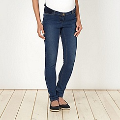 Red Herring Maternity - Online exclusive blue skinny maternity jeans