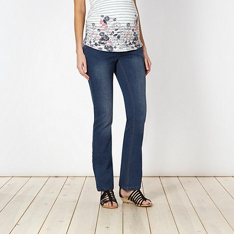 Red Herring Maternity - Online exclusive light blue bootcut maternity jeans