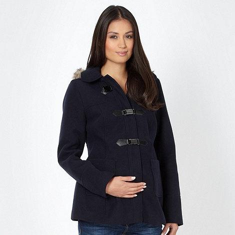 Red Herring Maternity - Navy maternity duffle coat