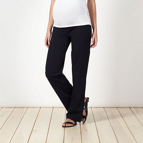 Red Herring Maternity - Navy jersey maternity lounge trousers