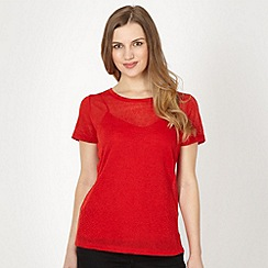 Red Herring - Red embossed t-shirt