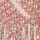 Red Herring - Red tile print woven maxi dress Alternative 2