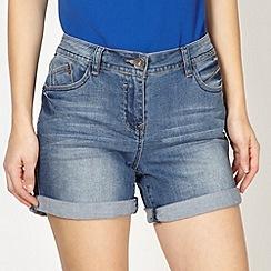 Red Herring - Blue denim shorts