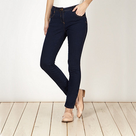 Red Herring - Dark blue +Lulu+ skinny jeans