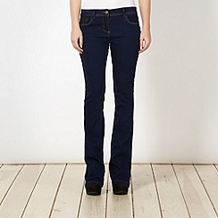 Red Herring - Mid blue 'Daisy' bootcut jeans