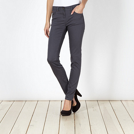 Red Herring - Grey super skinny +Holly+ jeans