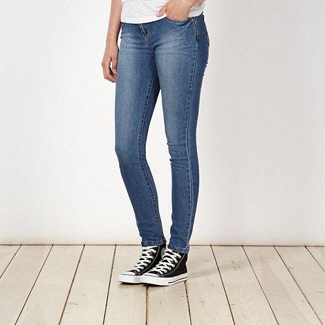 Red Herring - Blue vintage wash +Holly+ skinny jeans