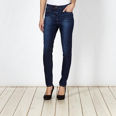 Red Herring - Dark blue vintage wash +Holly+ super skinny jeans