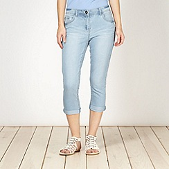 Red Herring - Light blue 'Holly' super skinny cropped jeans