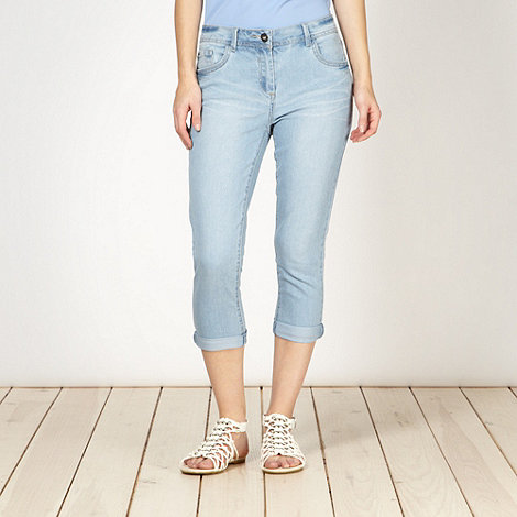 Red Herring - Light blue +Holly+ super skinny cropped jeans