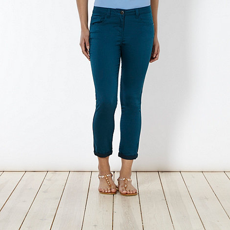 Red Herring - Green +Holly+ super skinny coloured jeans